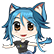 A Wild Catgirl Appears! Emoticon CatEiko