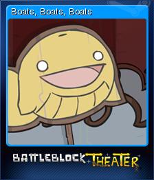 BattleBlock Theater Card 8