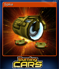 Burning Cars Card 5