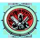 Chainsaw Warrior Badge 3