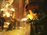Deus Ex: Human Revolution - DXHR Fire Fight
