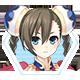 Hyperdevotion Noire Goddess Black Heart Badge 4