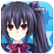 MegaTagMension Blanc + Neptune VS Zombies Emoticon znoire