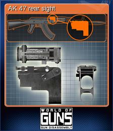 World of Guns Gun Disassembly Card 06