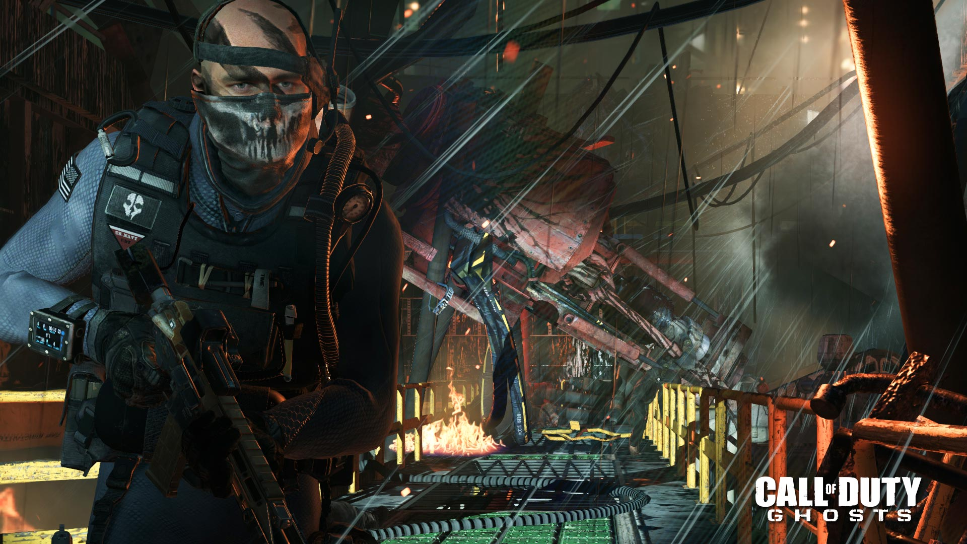 Call Of Duty: Ghosts - Multiplayer - Atlas Falls