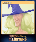 Magicians & Looters Card 1