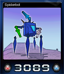 3089 Futuristic Action RPG Card 3