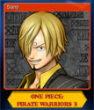 One Piece Pirate Warriors 3 Card 3