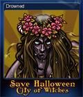 Save Halloween City of Witches Card 09