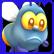 Shiny The Firefly Emoticon not happy