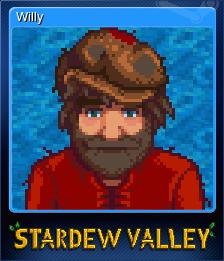 Stardew Valley - Willy | Steam Trading Cards Wiki | FANDOM powered