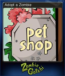 Zombie Gotchi Card 1