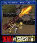 Death by Game Show Card 2