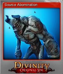Divinity Original Sin Card 02 Foil