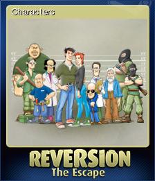 Reversion - The Escape Card 1