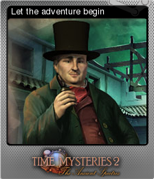 Time Mysteries The Ancient Spectres Foil 1