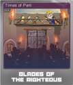 Blades of the Righteous Foil 2