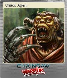 Chainsaw Warrior Foil 2