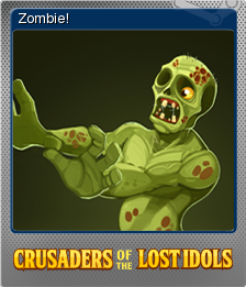 Crusaders of the Lost Idols Foil 4