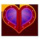 Dungeon Hearts Badge 5