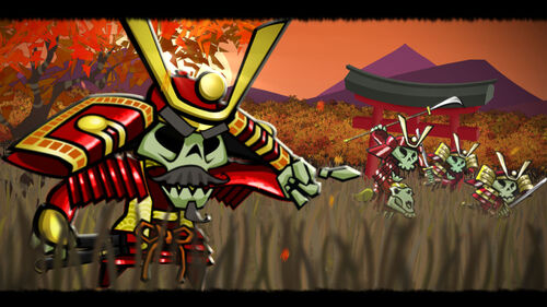 Skulls of the Shogun Artwork 2