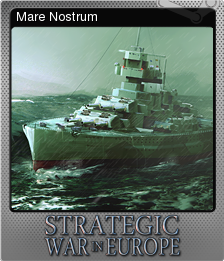 Strategic War in Europe Foil 9