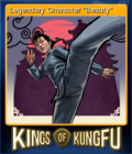 Kings of Kung Fu Card 6