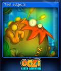 Oozi Earth Adventure Card 5