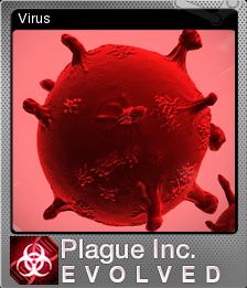 Plague Inc Evolved Foil 2
