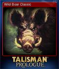 Talisman Prologue Card 8