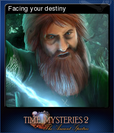 Time Mysteries The Ancient Spectres Card 6