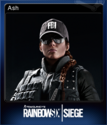 Tom Clancy's Rainbow Six Siege Card 01