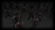 Yet Another Zombie Defense Background Zombies swarming