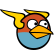 Angry Birds Space Emoticon TheBlues