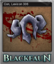 Blackfaun Foil 9