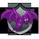 Flix The Flea Badge 2