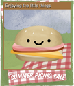 Summer Picnic Sale Card 06