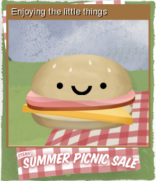 Summer Picnic Sale Card 06