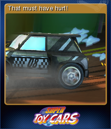 Super Toy Cars Card 4