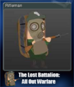 The Lost Battalion All Out Warfare Card 1