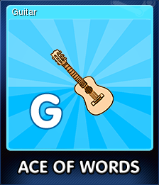 Ace Of Words Card 7