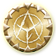 Age of Fear 2 The Chaos Lord Badge Foil
