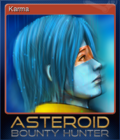 Asteroid Bounty Hunter Card 5