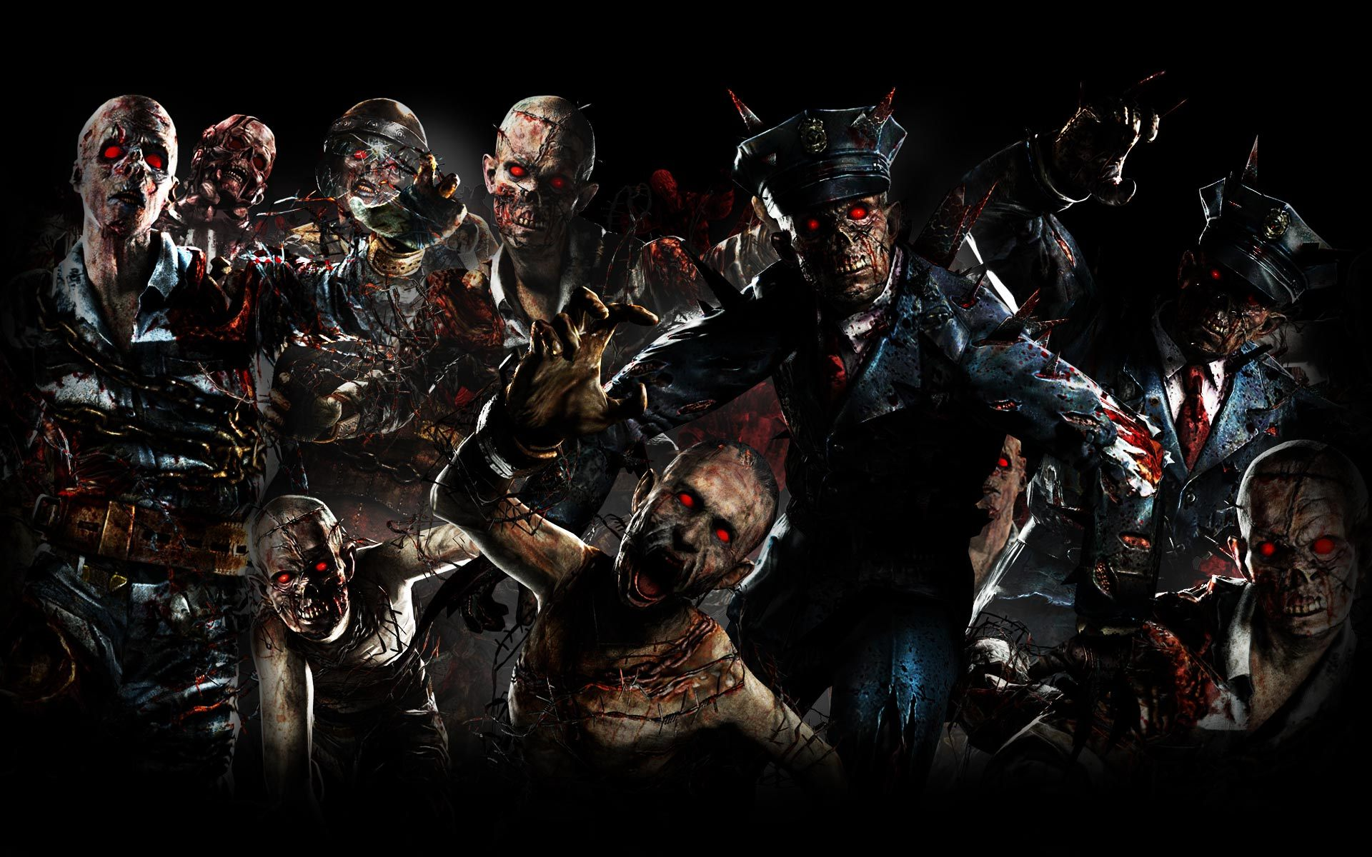 Call Of Duty Black Ops II Zombies Background Escape From Alcatraz
