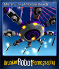 Drunken Robot Pornography Card 4