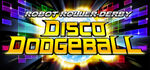 Robot Roller-Derby Disco Dodgeball Logo