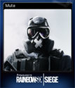 Tom Clancy's Rainbow Six Siege Card 07