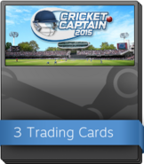 Cricket Captain 2015 Booster Pack