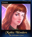Mythic Wonders The Philosopher's Stone Card 1