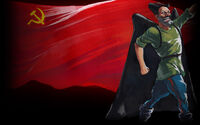 Red Comrades Save the Galaxy Reloaded Background Komdiv